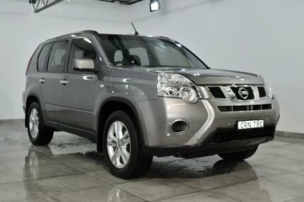 2013 Nissan X-Trail T31 ST Grey Constant Variable Wagon Lansvale Liverpool Area Preview