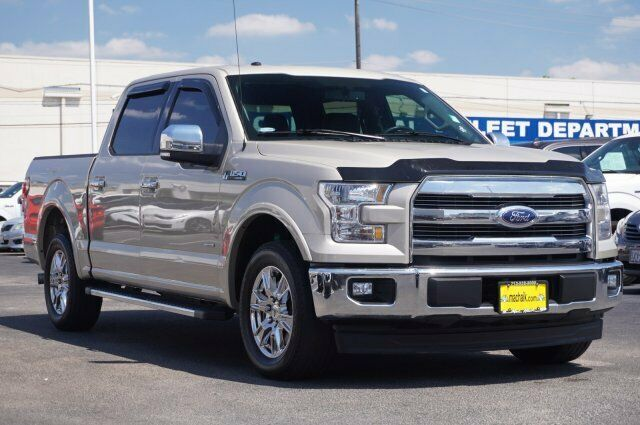 Owner 2017 Ford F-150 Lariat 99023 Miles White Gold Crew Cab Pickup Twin Turbo Regular