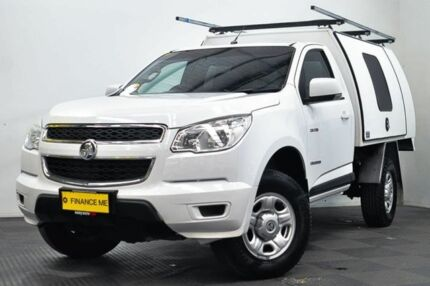 2013 Holden Colorado RG MY13 LX 4x2 White 6 Speed Sports Automatic Cab Chassis Canning Vale Canning Area Preview