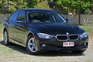2013 BMW 316I F30 MY0413 Black 8 Speed Automatic Sedan Aspley Brisbane North East Preview
