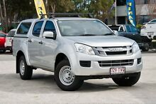 2013 Isuzu D-MAX MY14 SX Crew Cab High Ride Titanium Silver 5 Speed Sports Automatic Utility Southport Gold Coast City Preview