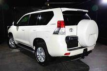 2011 Toyota Landcruiser Prado KDJ150R VX White 5 Speed Sports Automatic Wagon Wangara Wanneroo Area Preview
