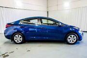 2015 Hyundai Elantra MD3 Active Blue 6 Speed Sports Automatic Sedan Wangara Wanneroo Area Preview