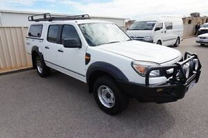 2011 Ford Ranger PK XL Crew Cab White 5 Speed Manual Utility Pearsall Wanneroo Area Preview