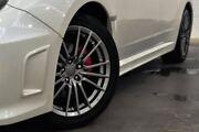 2012 Subaru Impreza G3 MY12 WRX AWD White 5 Speed Manual Sedan Thornlie Gosnells Area Preview