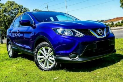 2017 Nissan Qashqai J11 ST Blue 1 Speed Constant Variable Wagon Wangara Wanneroo Area Preview