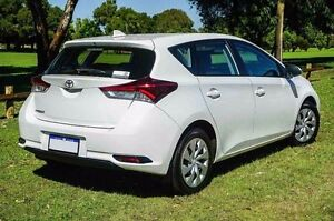 2015 Toyota Corolla ZRE182R Ascent S-CVT White 7 Speed Constant Variable Hatchback Westminster Stirling Area Preview
