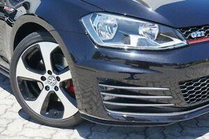 2014 Volkswagen Golf VII MY14 GTI DSG Black 6 Speed Sports Automatic Dual Clutch Hatchback St James Victoria Park Area Preview