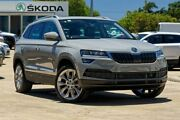 2018 Skoda Karoq NU MY18 110TSI DSG FWD Grey 7 Speed Sports Automatic Dual Clutch Wagon Mandurah Mandurah Area Preview