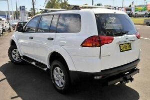2012 Mitsubishi Challenger PB (KG) MY12 White 5 Speed Sports Automatic Wagon North Gosford Gosford Area Preview