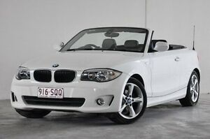 2012 BMW 118d E88 LCI MY0911 Steptronic White 6 Speed Sports Automatic Convertible Robina Gold Coast South Preview