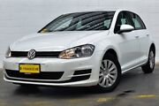 2013 Volkswagen Golf VII MY14 90TSI DSG White 7 Speed Sports Automatic Dual Clutch Hatchback Canning Vale Canning Area Preview