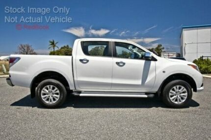 2015 Mazda BT-50 B32Q XTR Cool White 6 Speed Manual Utility Cannington Canning Area Preview