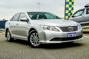 2014 Toyota Aurion GSV50R AT-X Silver 6 Speed Automatic Sedan