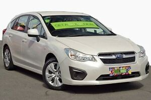 2012 Subaru Impreza G4 MY12 2.0i-S Lineartronic AWD White 6 Speed Constant Variable Hatchback Coolangatta Gold Coast South Preview