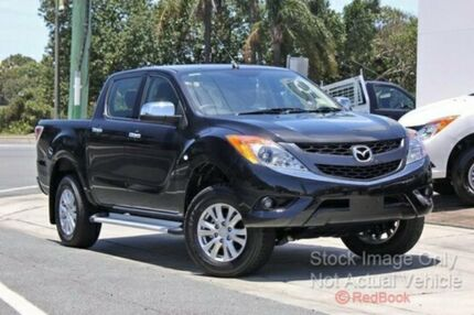2015 Mazda BT-50 B32Q XTR Black 6 Speed Manual Utility Cannington Canning Area Preview