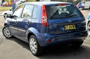 2007 Ford Fiesta WQ LX Blue 5 Speed Manual Hatchback North Gosford Gosford Area Preview