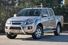 2012 Isuzu D-MAX MY12 LS-M Crew Cab Gold 5 Speed Manual Utility Helensvale Gold Coast North Preview