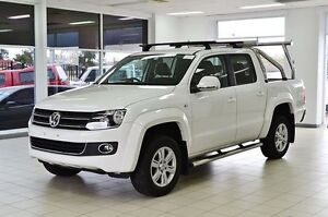 2015 Volkswagen Amarok 2H MY15 TDI400 Highline (4x4) White 6 Speed Manual Dual Cab Utility Morley Bayswater Area Preview