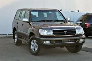 2001 Toyota Landcruiser HDJ100R GXV Red 4 Speed Automatic Wagon Tweed Heads South Tweed Heads Area Preview
