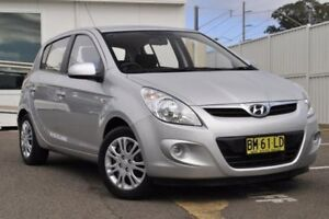 2011 Hyundai i20 PB MY11 Active Silver 4 Speed Automatic Hatchback Gosford Gosford Area Preview
