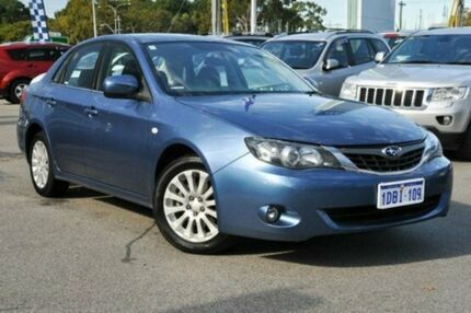 2009 Subaru Impreza G3 MY09 R AWD Blue 5 Speed Manual Sedan Myaree Melville Area Preview
