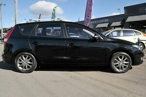 2010 Hyundai i30 FD MY11 SLX cw Wagon Black 4 Speed Automatic Wagon