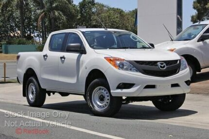 2015 Mazda BT-50 B32Q XT Cool White 6 Speed Automatic Utility Cannington Canning Area Preview