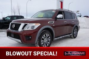 2018 Nissan Armada AWD SL LEATHER SEATS, NAVIGATION, PUSH START,