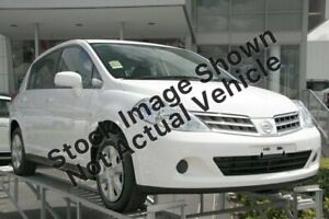 2010 Nissan Tiida C11 MY07 ST Silver 4 Speed Automatic Hatchback Garbutt Townsville City Preview
