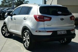 2011 Kia Sportage SL Platinum Silver 6 Speed Sports Automatic Wagon Pennant Hills Hornsby Area Preview