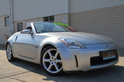 2003 Nissan 350Z Z33 Touring Silver 6 Speed Manual Coupe Ashmore Gold Coast City Preview