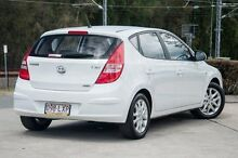 2009 Hyundai i30 FD MY09 SLX White 4 Speed Automatic Hatchback Helensvale Gold Coast North Preview
