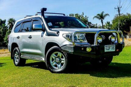 2012 Toyota Landcruiser VDJ200R MY10 GX Silver 6 Speed Sports Automatic Wagon Wangara Wanneroo Area Preview
