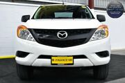 2012 Mazda BT-50 UP0YF1 XT 4x2 Hi-Rider White 6 Speed Sports Automatic Utility Canning Vale Canning Area Preview