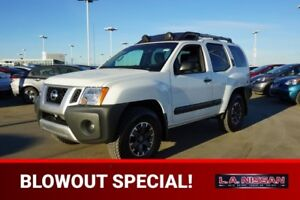 2014 Nissan Xterra 4X4 PRO-4X 6 SPEED Accident Free,  Navigation