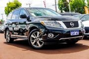 2014 Nissan Pathfinder R52 MY14 Ti X-tronic 4WD Black 1 Speed Constant Variable Wagon Osborne Park Stirling Area Preview