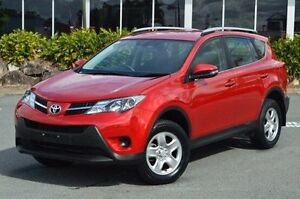 2015 Toyota RAV4 Red Constant Variable Wagon Highland Park Gold Coast City Preview
