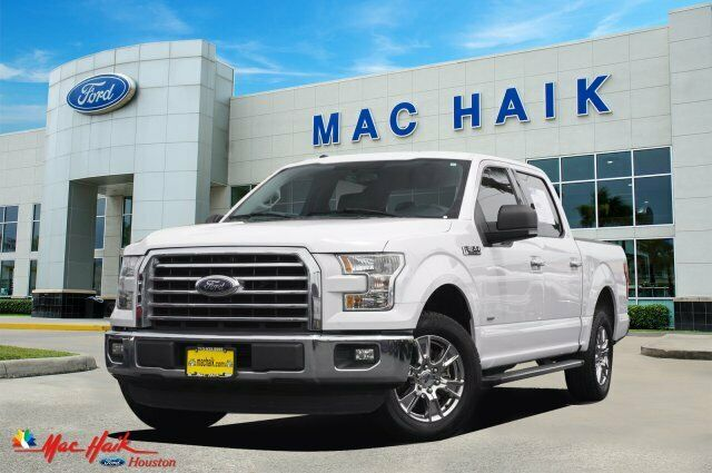 2016 Ford F-150 XLT 74286 Miles White Crew Cab Pickup Twin Turbo Regular Unleade