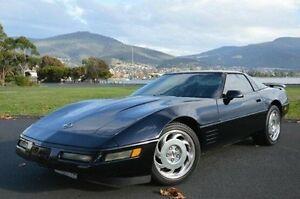 1992 Chevrolet Corvette Black Automatic Coupe Derwent Park Glenorchy Area Preview
