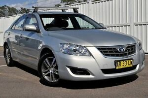 2007 Toyota Aurion GSV40R AT-X Green 6 Speed Sports Automatic Sedan North Gosford Gosford Area Preview