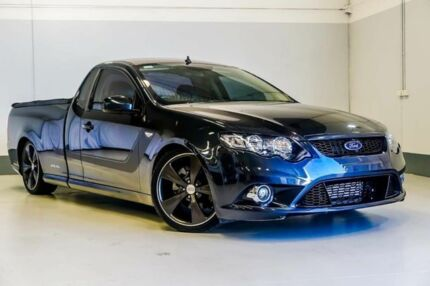 2011 Ford Falcon FG MkII XR6 Ute Super Cab Turbo Grey 6 Speed Sports Automatic Utility Wangara Wanneroo Area Preview