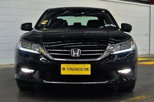 2014 Honda Accord 9th Gen MY14 V6L Black 6 Speed Sports Automatic Sedan