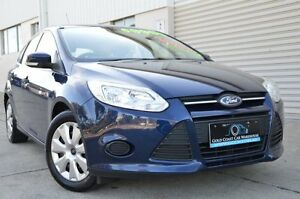 2011 Ford Focus LW Ambiente Blue 5 Speed Manual Hatchback Ashmore Gold Coast City Preview