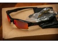 Oakley flak jacket sunglasses in oo red