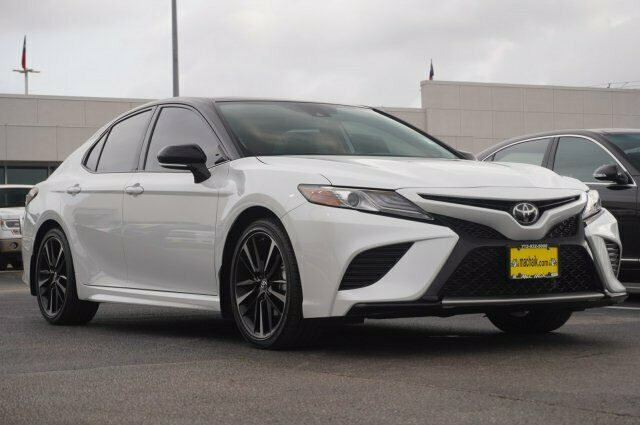 Owner 2019 Toyota Camry Xse 5284 Miles White 4dr Car Regular Unleaded I-4 2.5 L/152 Au