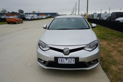 2017 MG MG6 IP2X Excite Silver 6 Speed Sports Automatic Dual Clutch Hatchback Kedron Brisbane North East Preview