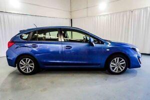 2016 Subaru Impreza G4 MY16 2.0i Lineartronic AWD Premium Blue 6 Speed Constant Variable Hatchback
