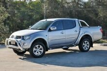 2014 Mitsubishi Triton MN MY15 GLX-R Double Cab Silver 5 Speed Manual Utility Helensvale Gold Coast North Preview