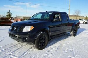 2018 Nissan Frontier 4X4 MIDNIGHT CREW CA EXCLUSIVE 18 INCH BLAC